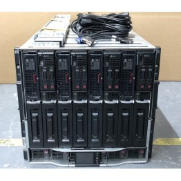 HP C7000 HP BL460c Gen8 1TB 64-Core D2200sb 28.8TB SAS Storage Blade Solution