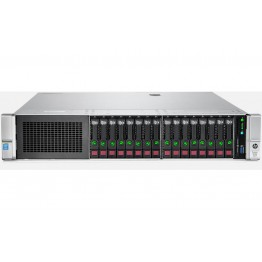 HP Proliant DL380 Gen9/2x E5-2670v3/384GB RAM/4x SSD/12x 1.2TB HDD/2x PSU/Rails