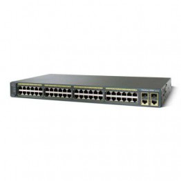 Cisco Catalyst WS-C2960+48TC-L 2960 Plus 48 10/100 + 2 T/SFP LAN Base