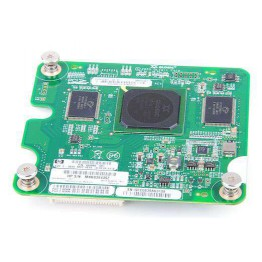 HP QMH2462 Dual Port 4 Gbit/s Fibre Channel Host Bus Adapter / FC HBA - Blade G6 / G7 - 404986-001 / 405920-001