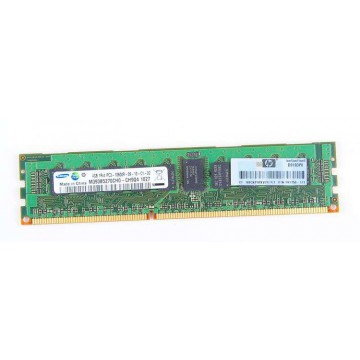 HP 4GB 1Rx4 PC3-10600R DDR3 Registered Server-RAM Modul REG ECC - 595096-001 / 591750-171