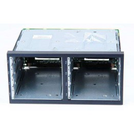 """HP DL380 G6 / G7 Additional Second HDD Drive Cage for 8x 2.5"""" Hard Drives 496074-001 incl. Backplane 507690-001"""