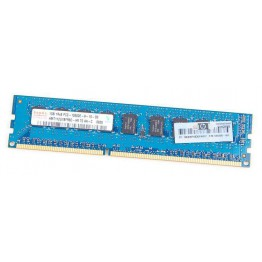 HP 1GB 1Rx8 PC3-10600E DDR3 unbuffered Server-RAM Modul ECC - 500208-061
