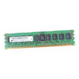 Micron 4GB 1Rx4 PC3-10600R DDR3 Registered Server-RAM Modul REG ECC - MT18JSF51272PZ-1G4D1BB