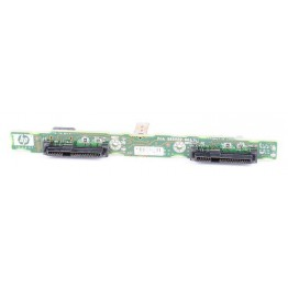 "HP 2x 2.5"" SAS Festplatten / Hard Disk Backplane Board - ProLiant BL620c G7 - 585920-001"