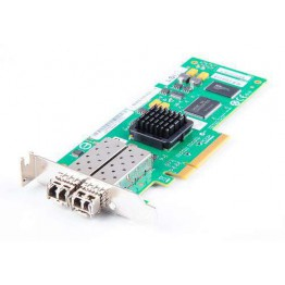 LSI 7204EP-LC Dual Port 4 Gbit/s FC Host Bus Adapter, PCI-E - LSI7204EP-LC - low profile