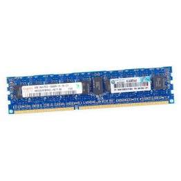 HP 4GB 1Rx4 PC3-10600R DDR3 Registered Server-RAM Modul REG ECC - 591750-371