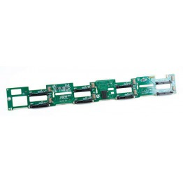 HP 8x 3.5'' SAS Festplatten / Hard Disk Backplane Board - ProLiant DL380p Gen8 - 643704-001