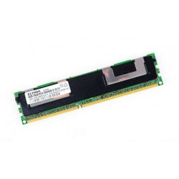 ELPIDA 4GB 2Rx4 PC3-10600R DDR3 Registered Server-RAM Modul REG ECC - EBJ41HE4BDFA-DJ-F