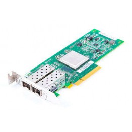 SUN QLE2562-SUN Dual Port 8 Gbit/s Fibre Channel Host Bus Adapter / FC HBA PCI-E - 371-4325 - low profile