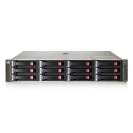 HPE MSA P2000 Smart Array/2x SAS Controller/24TB total storage/2x PSU/Rail kit